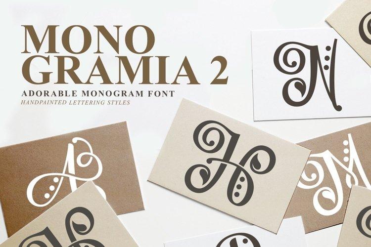 Web Font Monogramia 2 example image 1