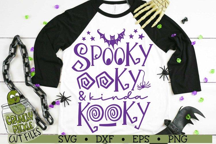 Spooky Ooky Halloween SVG Cut File