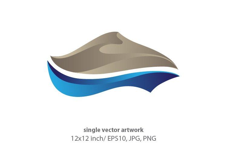 Golden Dune, SINGLE VECTOR ARTWORK example image 1