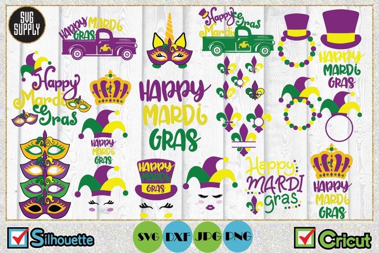Mardi Gras Bundle SVG Cut File