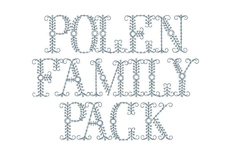 Polen Family Pack (plus a bonus font !) example image 1