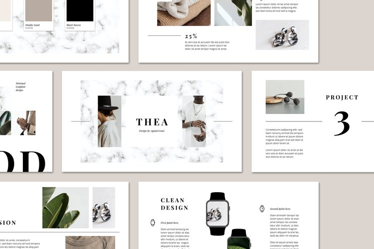 THEA Keynote Brand Guidelines