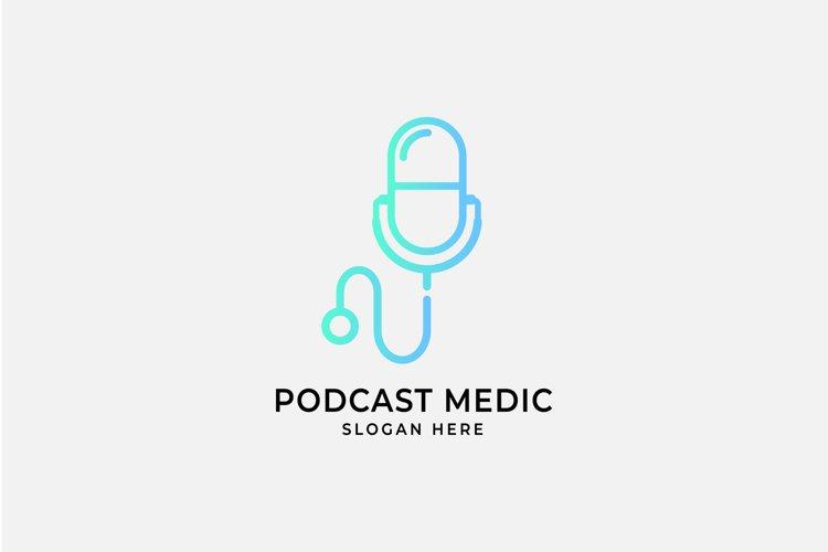 medical podcast logo inspiration