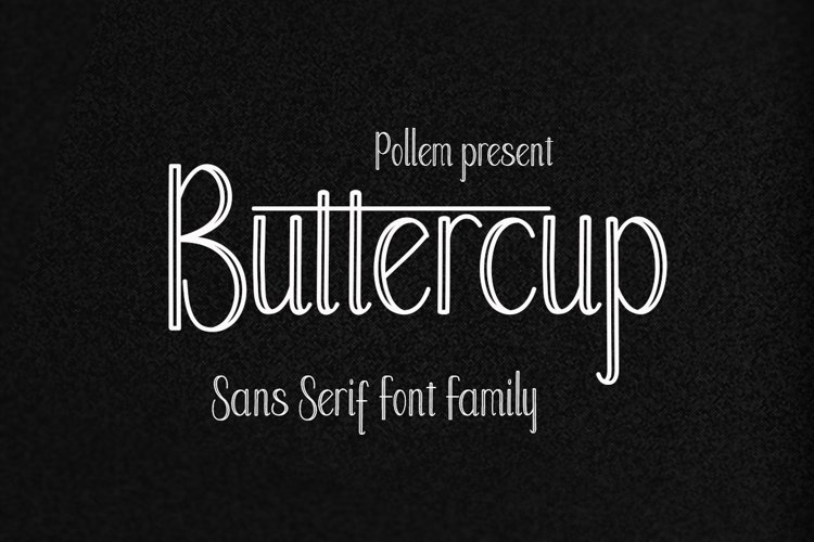 Buttercup Font Family