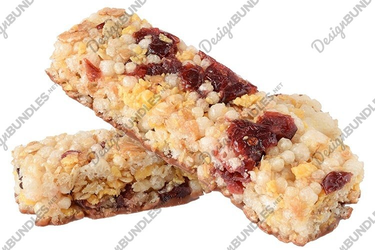 Stock Photo - Cereal bars with chocolate, example image 1