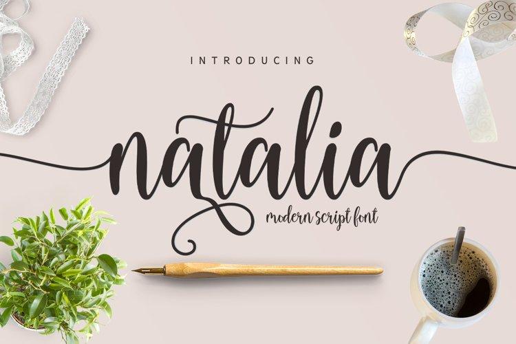 Natalia Script example image 1