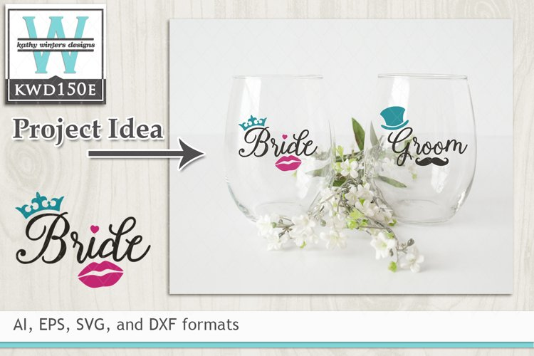Wedding SVG - Bride