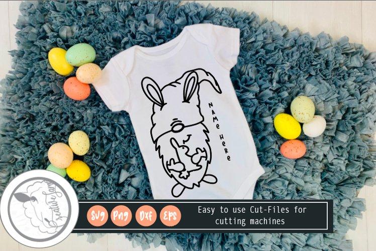 Easter SVG|Gnome Svg|