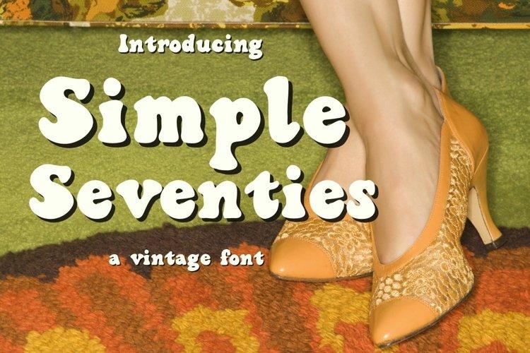 Simple Seventies example image 1
