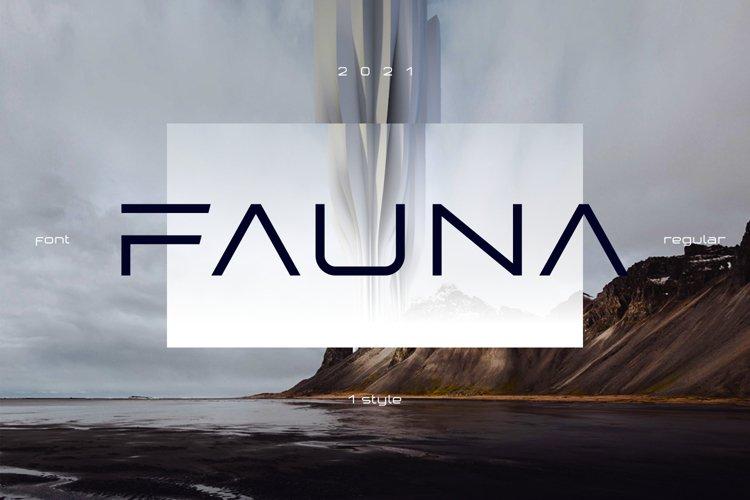 Fauna Futuristic Font 5 styles
