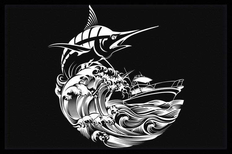 Fishing Marlin example image 1
