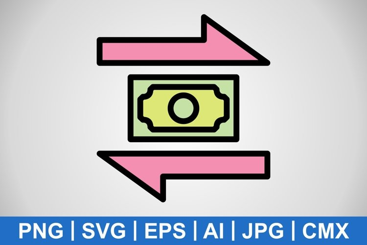 Vector Transaction Icon example image 1