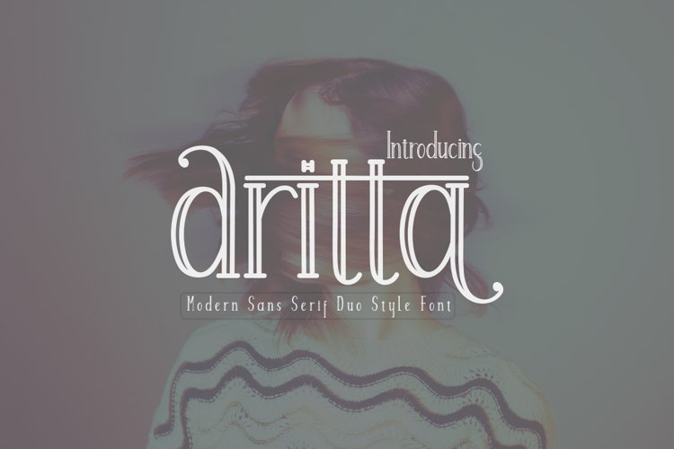 Aritta Font Duo example image 1