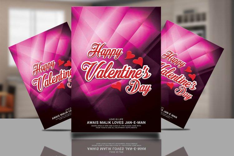 Valentines Flyer example image 1