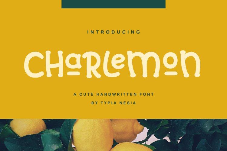 Charlemon Cute Font example image 1