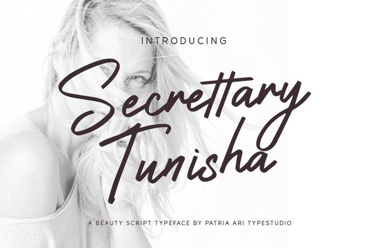 Secrettary Tunisha example image 1