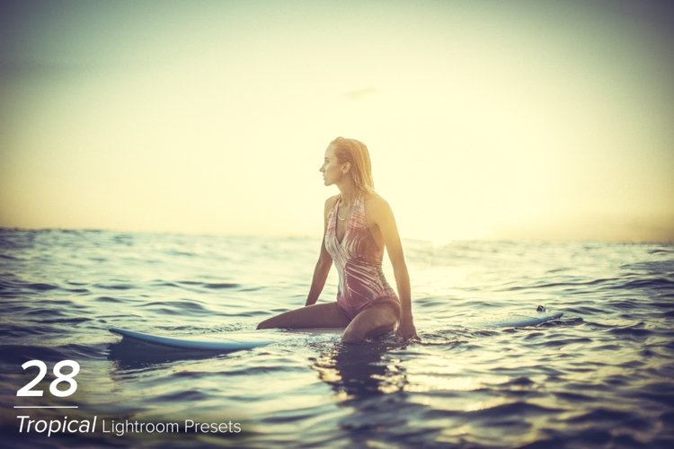 28 Tropical Lightroom Presets example image 1