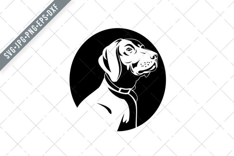 German Shorthaired Pointer Dog Medium to Large Sized Dog SVG example image 1