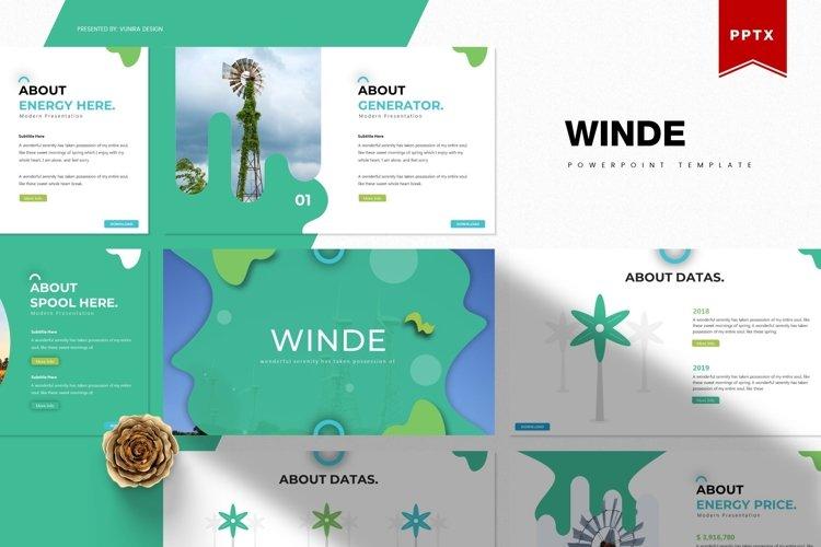 Winde | Powerpoint, Keynote, Google Slides Template example image 1