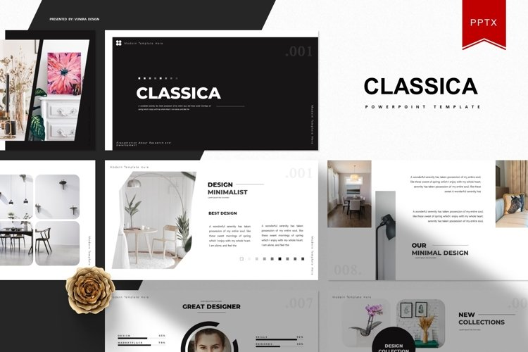 Classica | Powerpoint Template example image 1