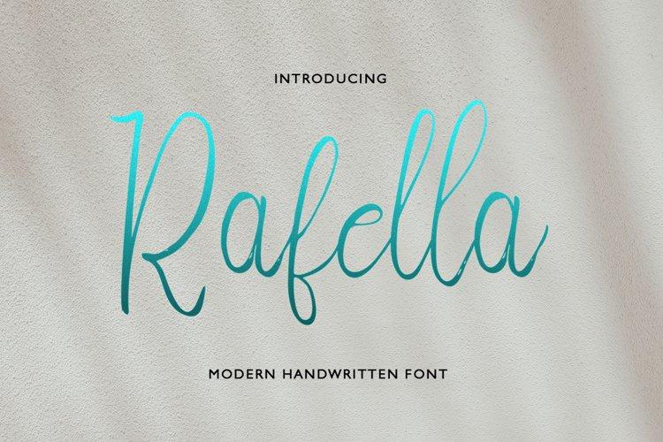 Rafella Script