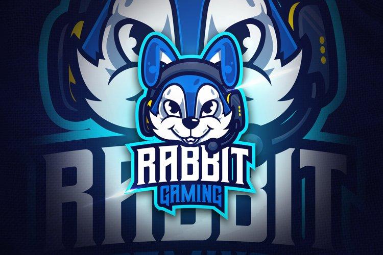 Rabbit Gaming - Mascot & Esport Logo example image 1