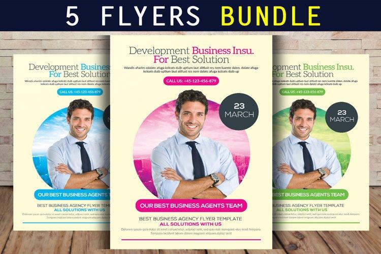 5 Business Flyer Bundle example image 1