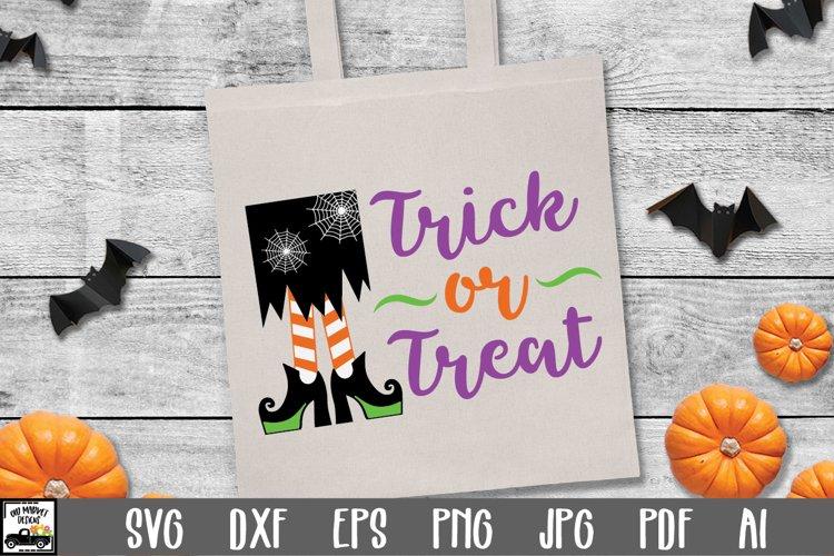 Trick or Treat SVG Cut File - Halloween SVG File