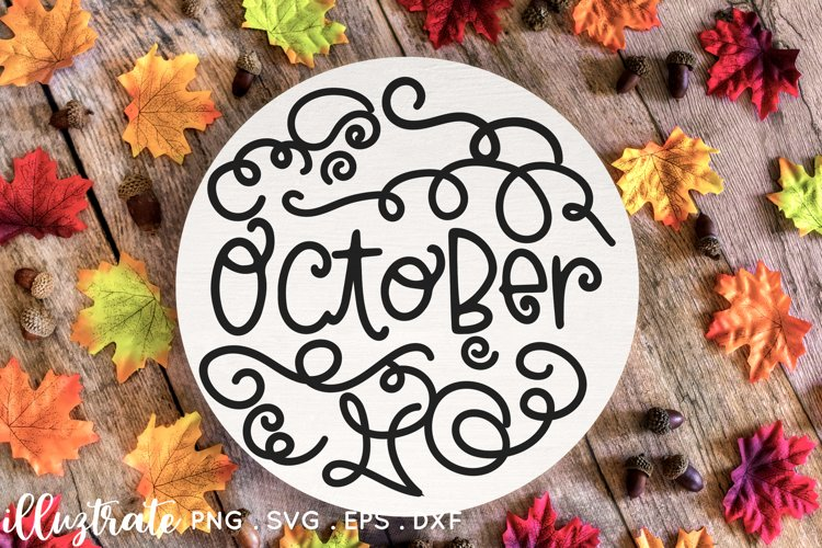 Months of the year SVG Cut File   Planner Stickers SVG example 3