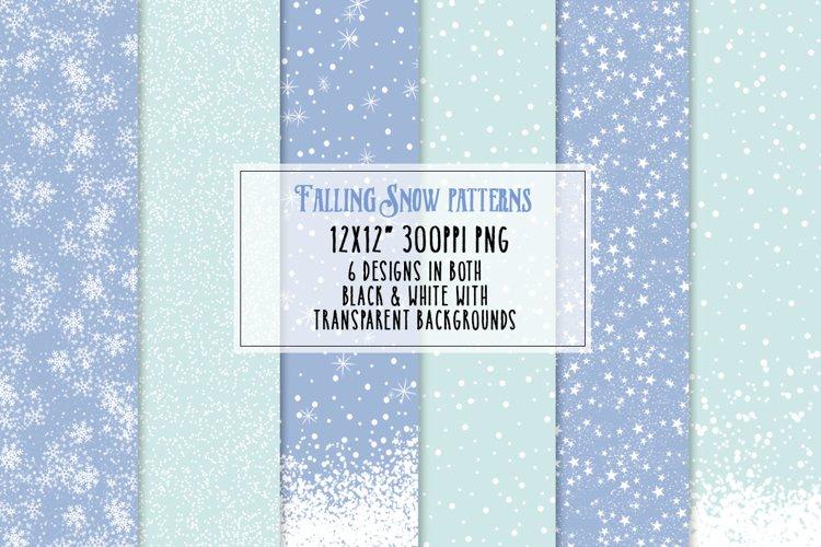 Falling Snow Patterns