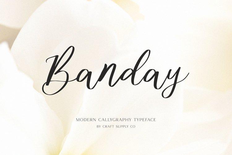 Banday - Modern Calligraphy example image 1