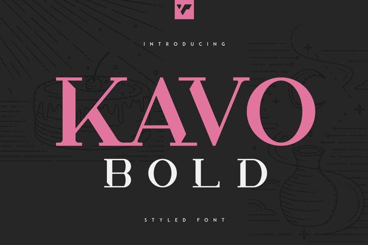 Kavo Styled Bold example image 1