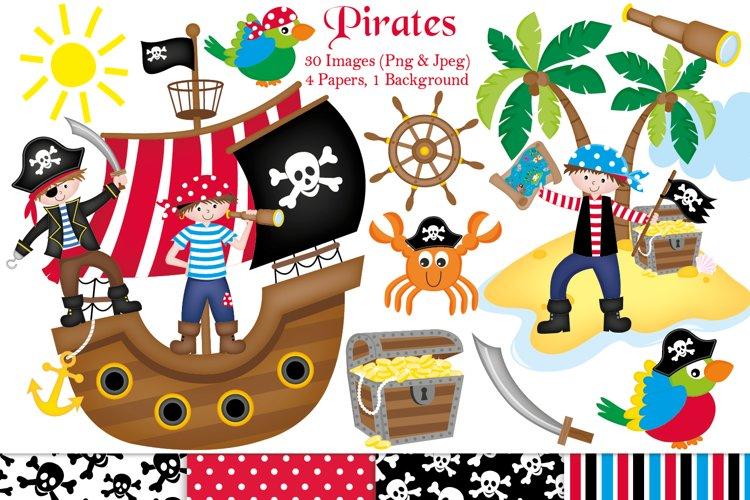 Pirate clipart, Pirate graphics   illustrations, Pirate ship