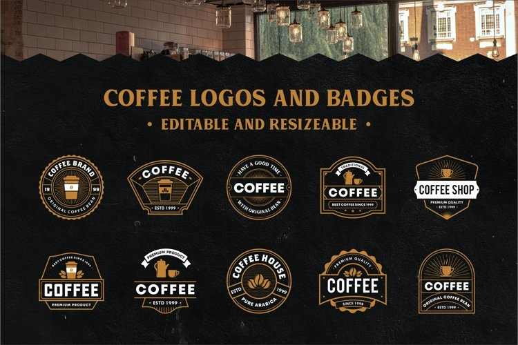 Coffee Logo And Badge Collection