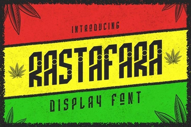 Web Font Rastafara Font example image 1