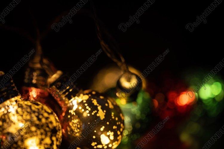 Holiday Lights Background example image 1