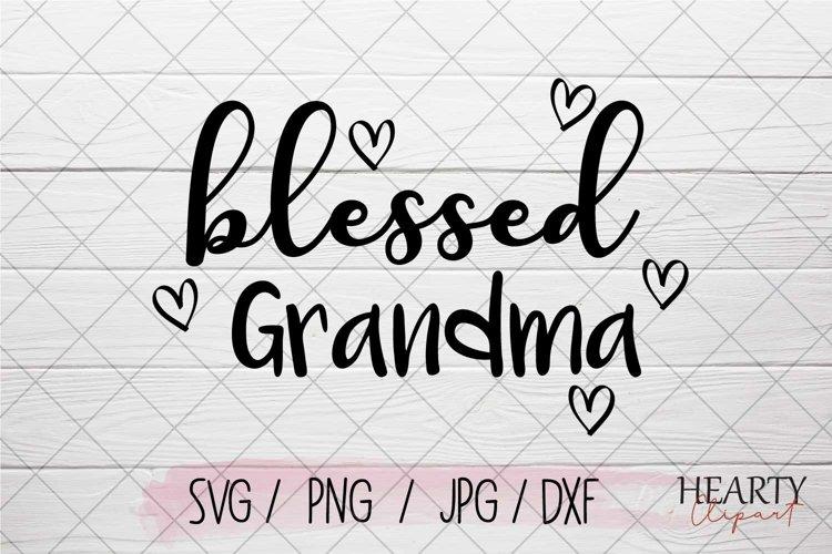 Blessed grandma svg example image 1