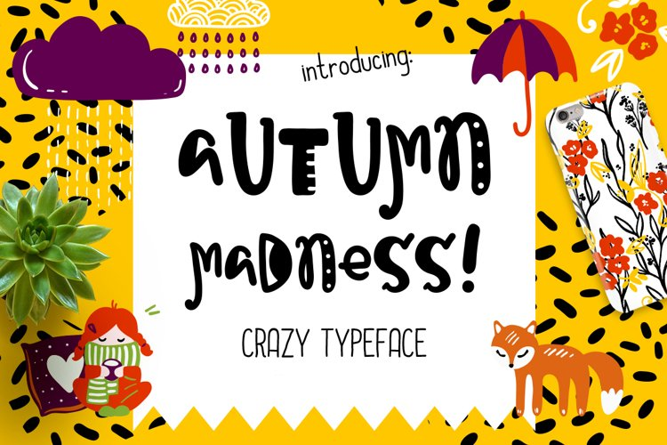 Autumn Madness Typeface example image 1