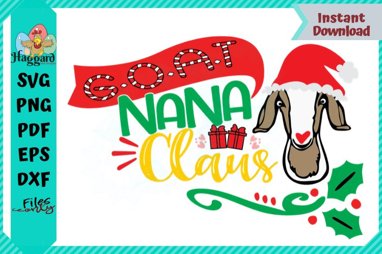 G.O.A.T NANA Claus example image 1