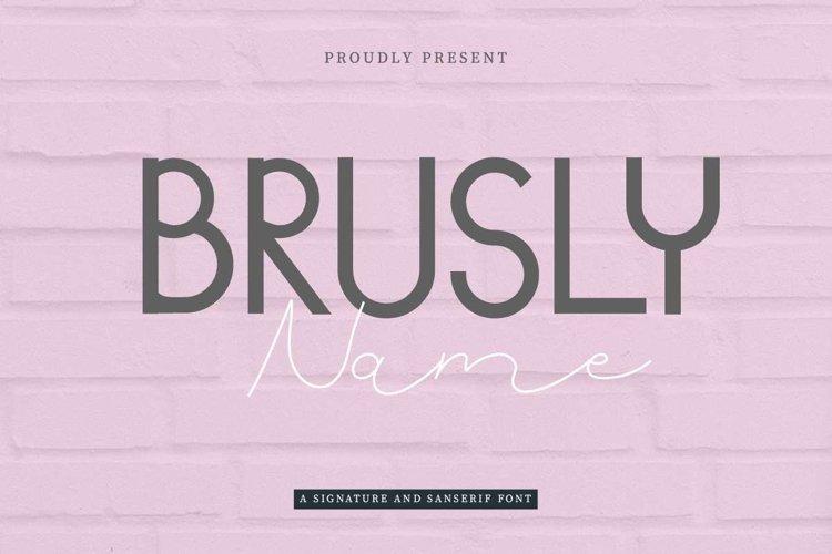 Brusly Name example image 1