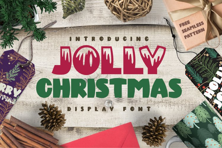 Jolly Christmas Font example image 1