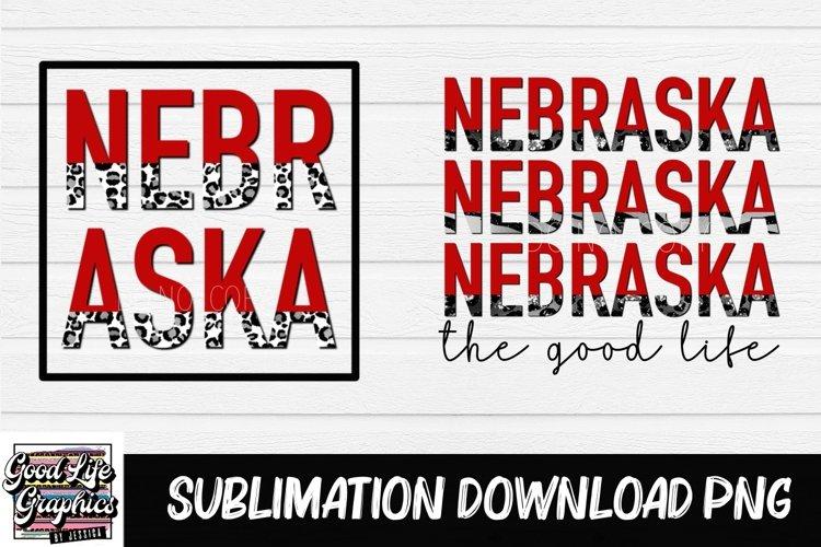 Sublimation designs for tshirts-nebraska-PNG example image 1