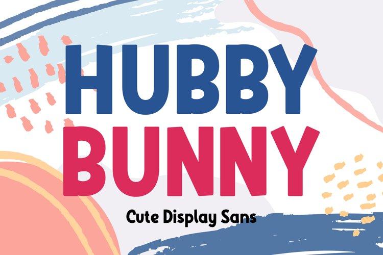 Hubby Bunny example image 1