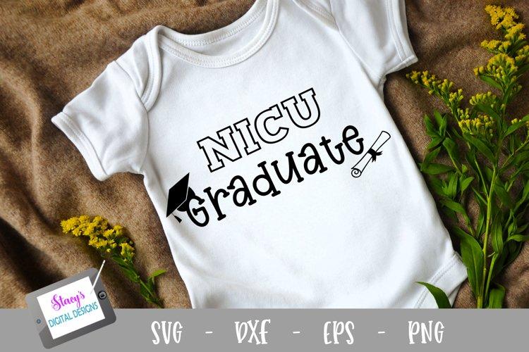 NICU Graduate SVG - Preemie SVG Design example image 1