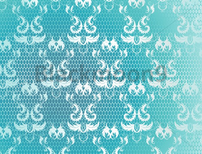 Blue Background with Lace example image 1
