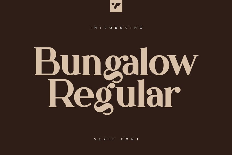 Bungalow Font example image 1