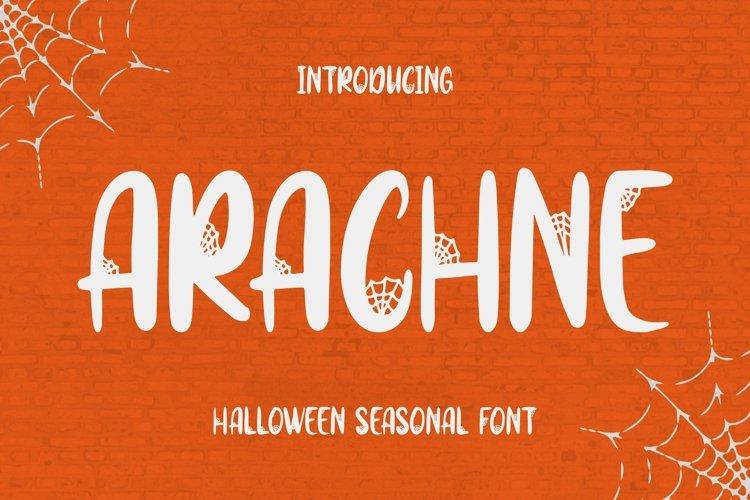 Web Font Arachne Font example image 1