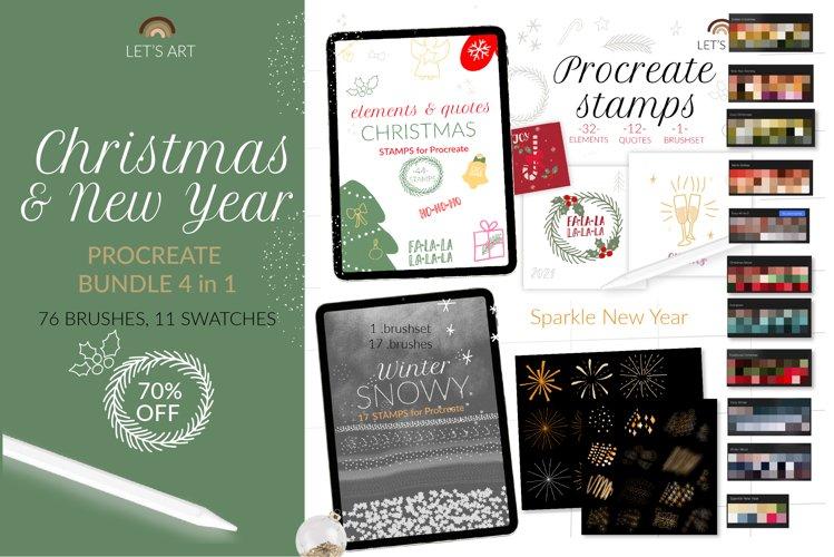 Christmas Procreate bundle