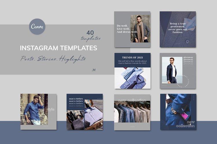 "Elegant Canva Instagram Templates ""Fashion"" example image 1"