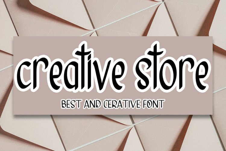 Creative store example image 1